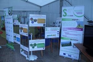 Les Jeunes Agriculteurs de la Marne ont accueilli Symbiose sur leur stand
