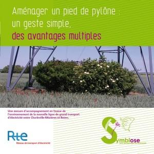 Plaquette pied pylône - RTE